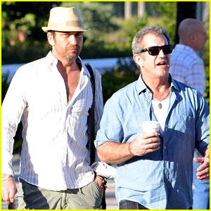 Gerard Butler & Mel Gibson: Bromance Continues!