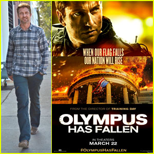 Gerard Butler: New 'Olympus Has Fallen' Poster!