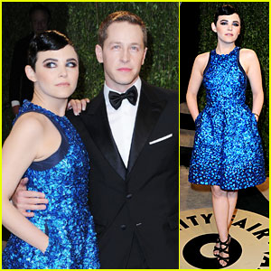 Ginnifer Goodwin & Josh Dallas - Vanity Fair Oscars Party 2013