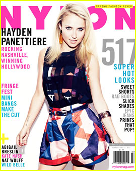 Hayden Panettiere Covers 'Nylon' March 2013 - Exclusive Quote!