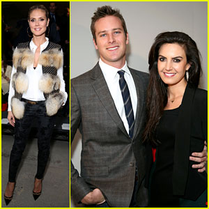Heidi Klum & Armie Hammer: Kenneth Cole Fashion Show!
