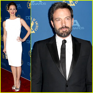 Jennifer Garner & Ben Affleck - DGA Awards 2013 Red Carpet