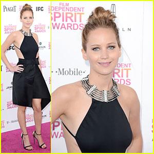 Jennifer Lawrence - Independent Spirit Awards 2013