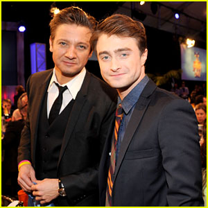 Jeremy Renner & Daniel Radcliffe - Independent Spirit Awards 2013