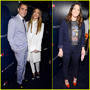 Jessica Alba & Drew Barrymore: Tommy Hilfiger Store Opening