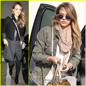 Jessica Alba: 'Jimmy Kimmel Live' Guest Next Week!