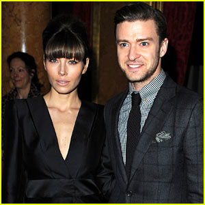 Jessica Biel & Justin Timberlake: Tom Ford Fashion Show!