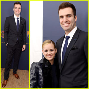 Joe Flacco: Tommy Hilfiger Fashion Show with Wife Dana!
