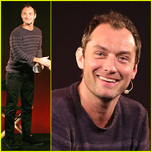 Jude Law: 'Side Effects' Promotion at Apple!