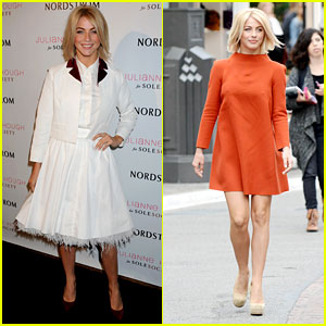 Julianne Hough: Sole Society Event & 'Extra' Appearance
