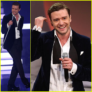 Justin Timberlake Performs 'Mirrors' Li