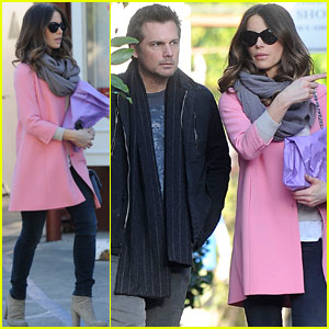 Kate Beckinsale & Len Wiseman: Brentwood County Mart Couple