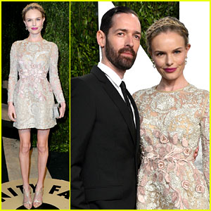 Kate Bosworth & Michael Polish - Vanity Fair Oscars Party 2013