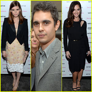 Kate Mara & Max Minghella: Vanity Fair Calendar Even