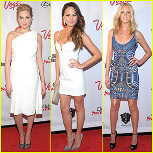 Kate Upton & Chrissy Teigen: Club SI Swimsuit Party!