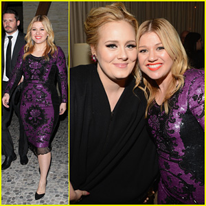 Kelly Clarkson &#038; Adele: Sony Music Grammy After Party!
