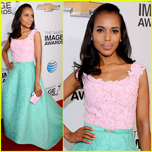 Kerry Washington - NAACP Image Awards 2013 Red Carpet