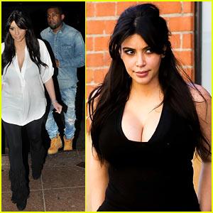 Kim Kardashian & Kanye West: Valentine's Dinner Date!