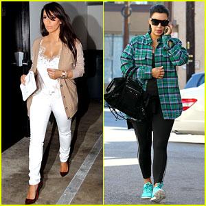 Kim Kardashian: Pregnant in Skinny Jeans!