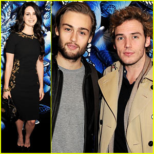 Lana Del Rey & Sam Claflin: Mulberry Fashion Show!