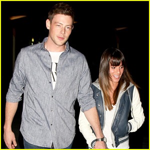 Lea Michele & Cory Monteith: ArcLight Hollywood Lovers!