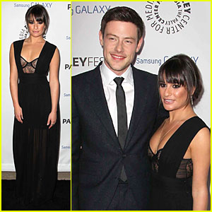 Lea Michele & Cory Monteith: Inaugural PaleyFest Icon Award Attendees!