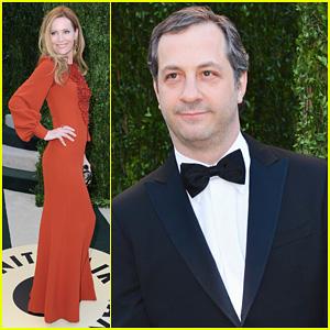 Leslie Mann & Judd Apatow - Vanity Fair Oscars Party 2013