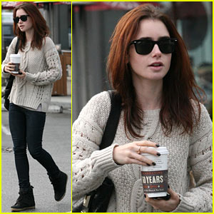 Lily Collins: 'Love, Rosie' Star!