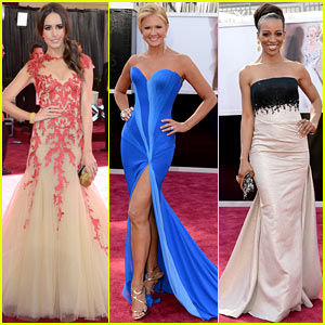 Louise Roe &#038; Nancy O'Dell - Oscars 2013 Red Carpet