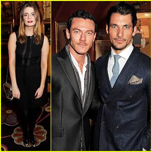 Luke Evans: Johnnie Walker Blue Label Launch!