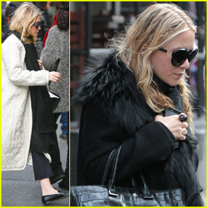 Mary-Kate & Ashley Olsen: Separate NYC Outings
