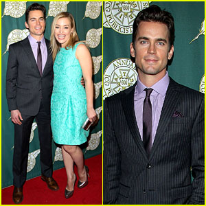 Matt Bomer & Piper Perabo: ICG Publicists Awards Luncheon!