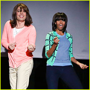 Michelle Obama: Evolution of Mom Dancing on 'Fallon'!