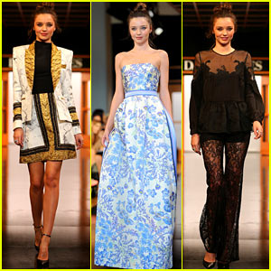 Miranda Kerr: David Jones Fashion Show - More Pics!