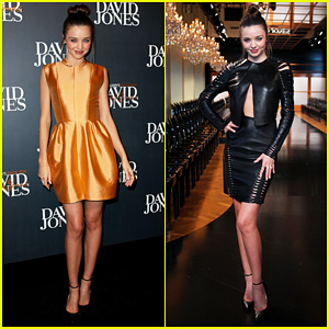 Miranda Kerr: David Jones Season Launch Fashion Show!
