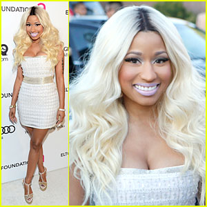 Nicki Minaj - Elton John Oscars Party 2013