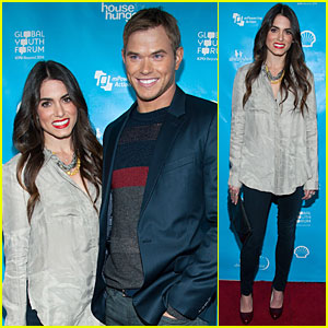 Nikki Reed & Kellan Lutz: Pre-Grammy mPowering Action Launch