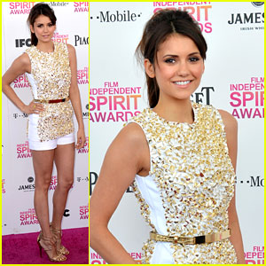 Nina Dobrev - Independent Spirit Awards 2013