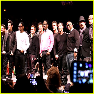 NKOTB: Press Day Behind the Scenes Video! (Exclusive)