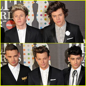 One Direction - BRIT Awards 2013 Red Carpet