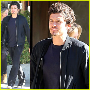Orlando Bloom: Little Dom's Lunch!
