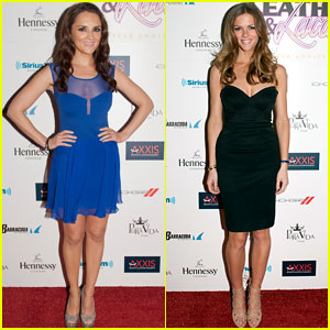 Rachael Leigh Cook & Brooklyn Decker: 'Leather & Laces' Party