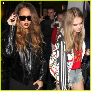 Rihanna &#038; Cara Delevingne: The Box Nightclub Party!