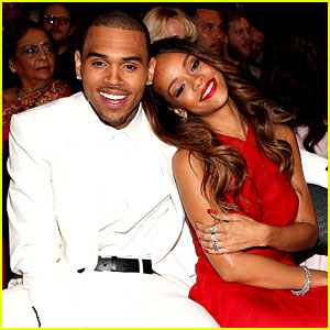 Rihanna & Chris Brown - Grammys 2013 Seatmates! (Pics)