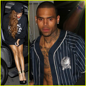 Rihanna: Supper Club with Chris Brown!