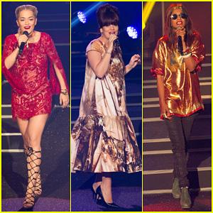 Rita Ora & Lily Allen: Etam Live Lingerie Fashion Show!