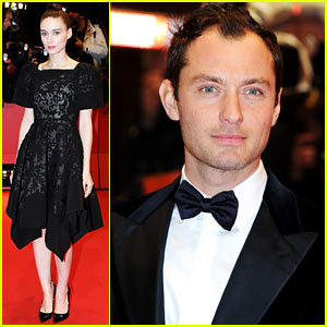 Rooney Mara & Jude Law: 'Side Effects' Berlin Premiere!