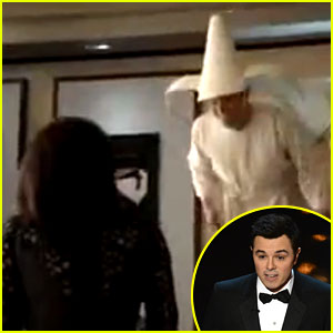 Seth MacFarlane: Flying Nun at Oscars 2013 with Sally Field!