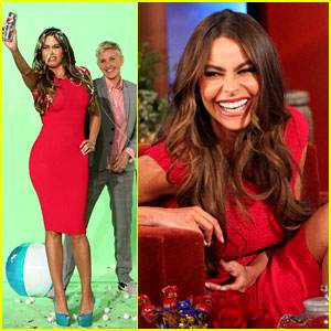 Sofia Vergara: Diet Pepsi Commercial Ruined By Ellen!