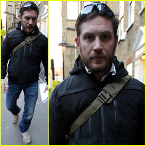 Tom Hardy: London Meeting Man!